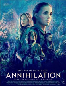 Annihilation movie poster (2018)