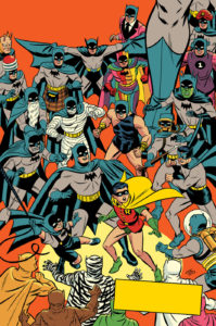 The night of many Batmen