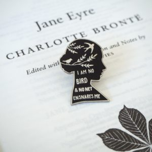 Jane Eyre Enamel Pin by Literary Emporium on Etsy
