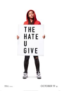 The Hate U Give movie poster (2018)
