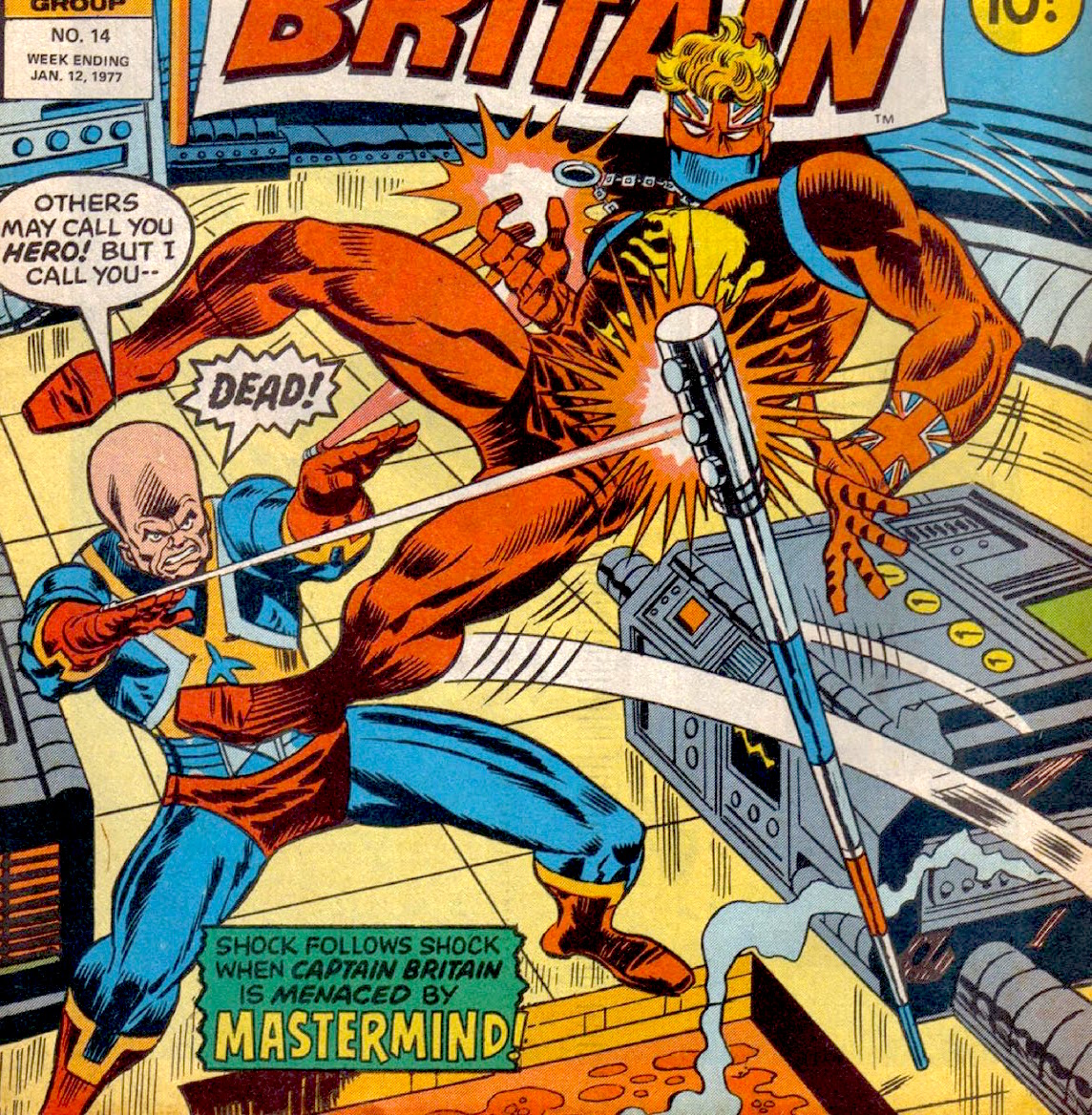 Captain Britain magazine #11, Marvel UK, Marvel Comics, Herb Trimpe, Gary Friedrich, Fred Kida, Irv Watanabe, Marie Severin