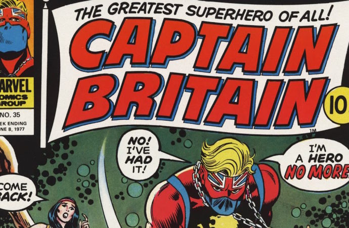 Captain Britain Reading Diary 2: S.T.R.I.K.E While the Day is Hot