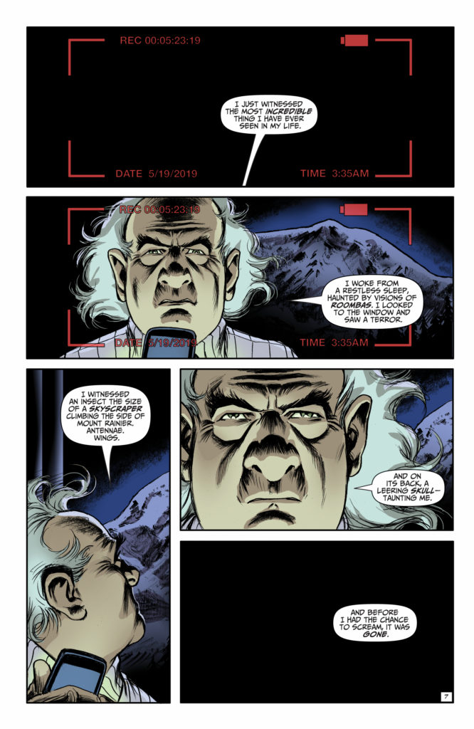 Edgar Allan Poe Snifter of Terror #3 (Ahoy Comics, 2018)