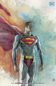 Superman #1 (David Mack Variant, DC Comics, 2018)