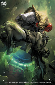 Red Hood and the Outlaws #25 (Yasmine Putri Variant, DC Comics, 2018)