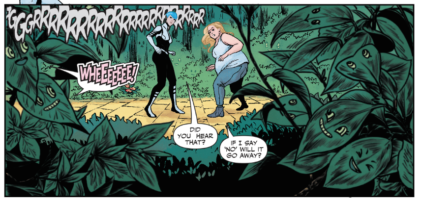 Faith: Dreamside #3 of 4 Jordie Bellaire and MJ Kim (artists), Jody Houser (scripter) Dave Sharpe (letters)