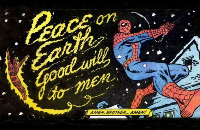 Spiderman Christmas.All I Want For Christmas Is A Spider Man Holiday Special Wwac