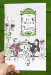 The Queer Language of Flowers by Robin Elan and L. M. Zoller