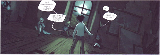 Panel from La Casa de Los Susurros by Tirso Cons