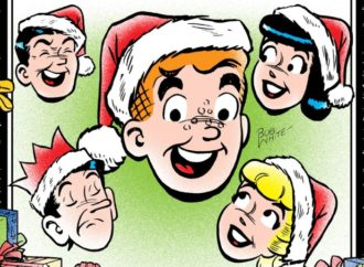 Get Creative With Archie's Holiday Coloring Book