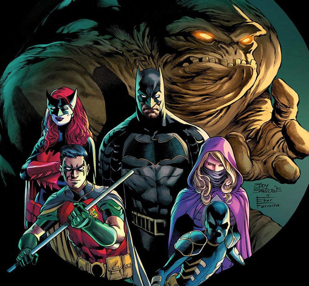 Cover of Detective Comics Vol. 1, Art by Eddy Barrows & Eber Ferreira, DC Comics, 2017
