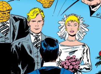 "The Wedding Issue: Johnny Storm and ""Alicia Masters"""