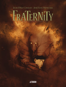 Cover to Fraternity by Juan Díaz Canales and José Luis Munuera, published by Astiberri