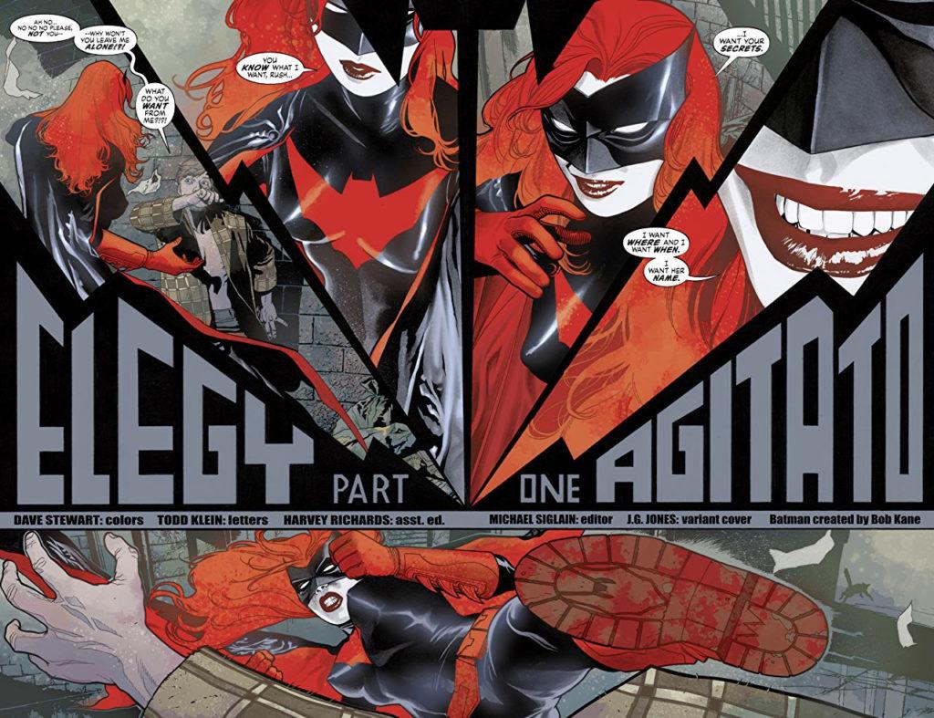 Detective Comics #845, Greg Rucka & JH Williams, DC Comics