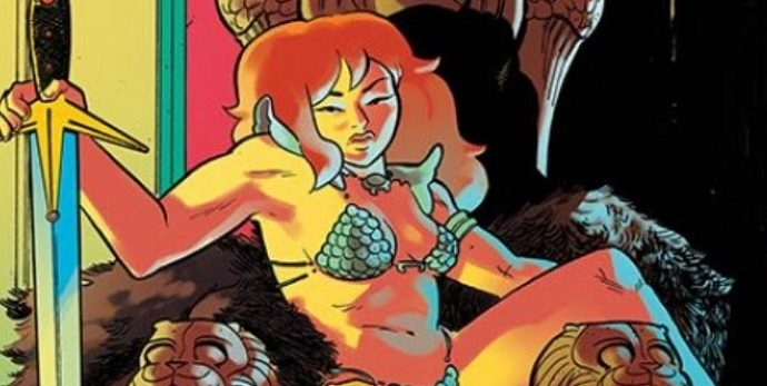 Cover Girl: Red Sonja #25