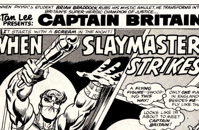 Captain Britain Reading Diary 3: Enemy in the Front Room