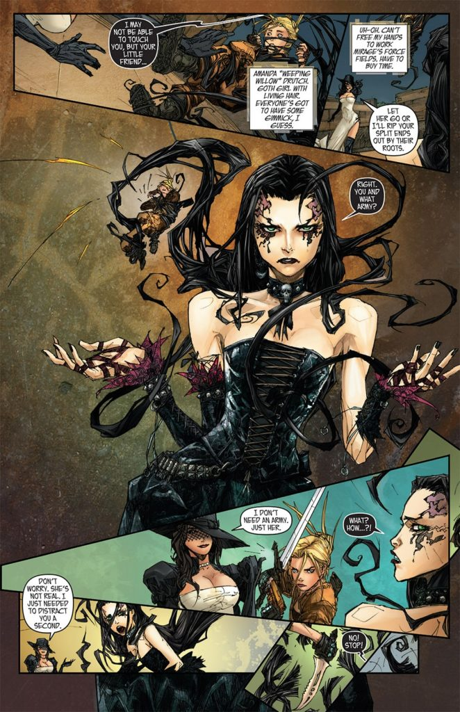Madame Mirage #4 (Top Cow Productions Inc., 2017)