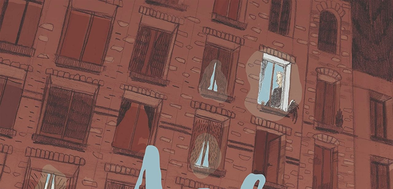 Aldo looks out a window in the Aldo cover. Written and drawn by Yannick Pelegrin. Published by Europe Comics. December 19,2018