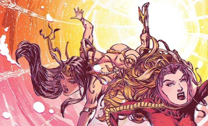 Barbarella/Dejah Thoris #1 Dives Through the Mysterious Constructs of Time