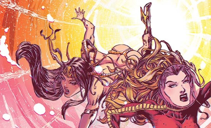 Barbarella/Dejah Thoris #1 (Dynamite Entertainment, January 2019)