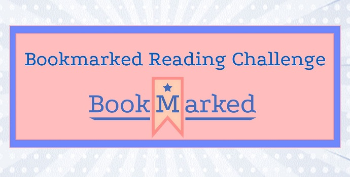 Bookmarked Reading Challenge banner (designed by Paige Allen)