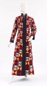 "Elsa Schiaparelli, ""Harlequin"" Evening Coat (Commedia dell'arte Collection) (Spring 1939)."