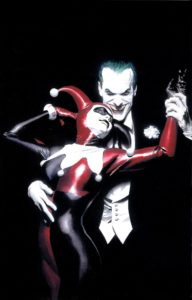Harley Quinn and the Joker, art by Alex Ross