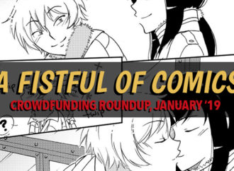 Fistful of Comics: Crowdfunding Roundup January '19