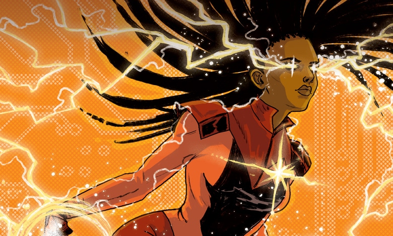 Livewire #2 Cover B. Written by Vita Ayala, drawn by Raúl Allén and Patricia Martín. Published by Valiant Comics. January 23, 2019