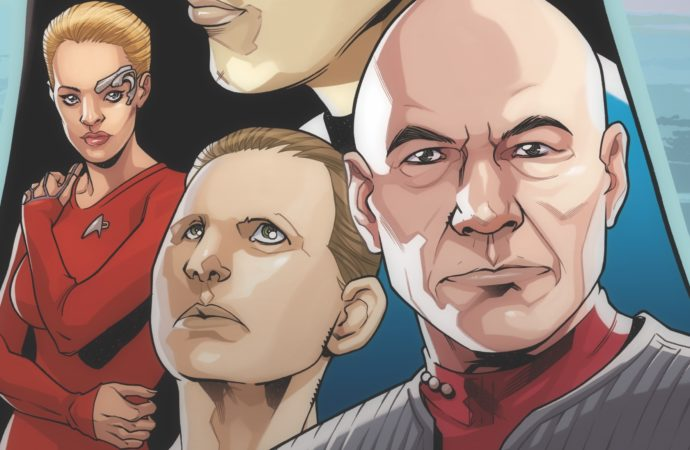 Star Trek: The Q Conflict #1: A Trek Crossover! 'Nuff Said!