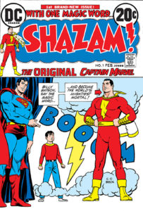 Superman and Shazam! and Billy Batson