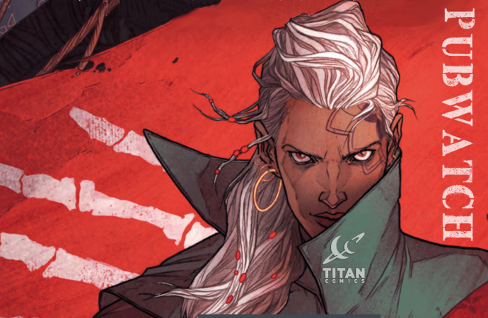 Titan Pubwatch Banner from Shades Of Magic: The Steel Prince #2