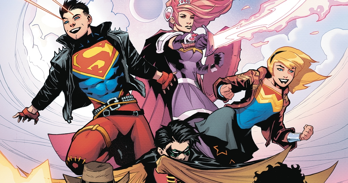 Young Justice #1 Cover A by Patrick Gleason. Written by Brian Michael Bendis, drawn by Patrick Gleason. Published by DC Comics. January 9, 2018
