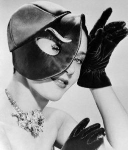 Elsa Schiaparelli, 'Eye Hat' (1950)
