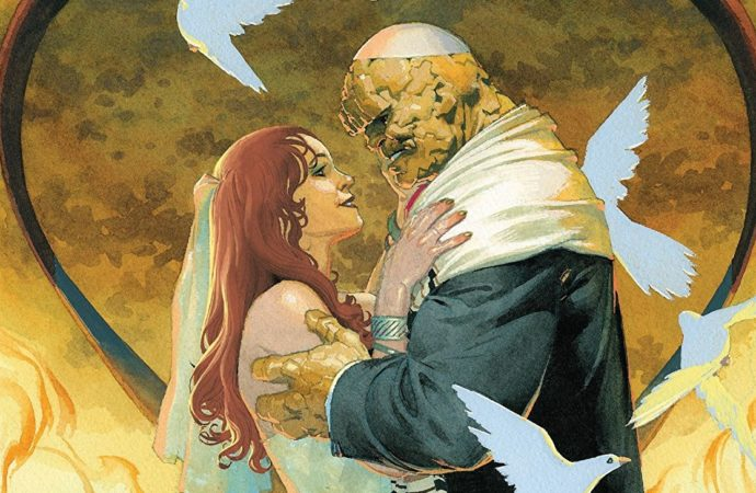 The Wedding Issue: Ben Grimm and Alicia Masters