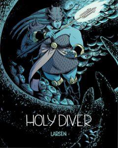 Holy Diver, Christine Larsen, 2018