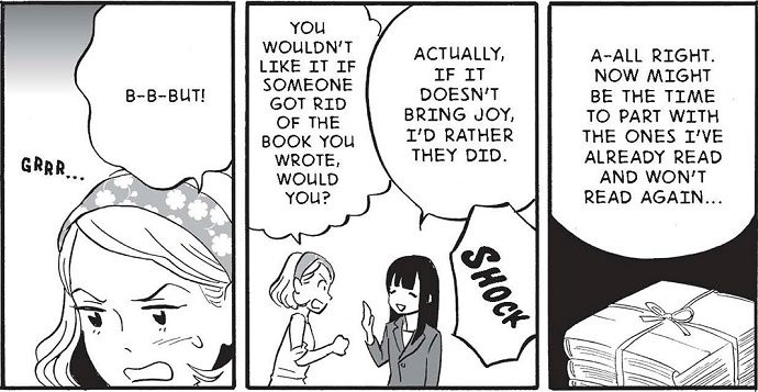 Marie Kondo Plays the Tidying Up Fairy in this Magical Manga