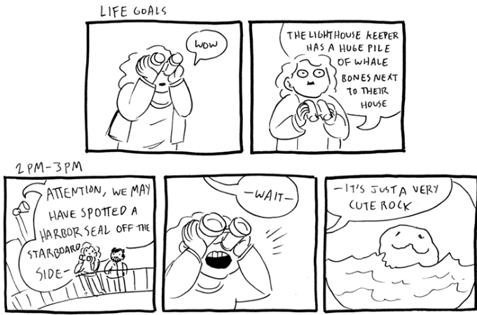 Abby Howard Hourly Comic Day 2019