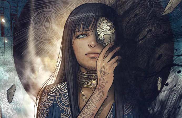 Cover to Monstress #18, Art by Sana