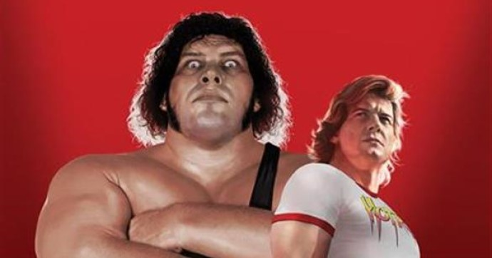 Rowdy Roddy Piper and Andre the Giant on the cover of WWE Forever #1, (BOOM! Studios, February 2019)