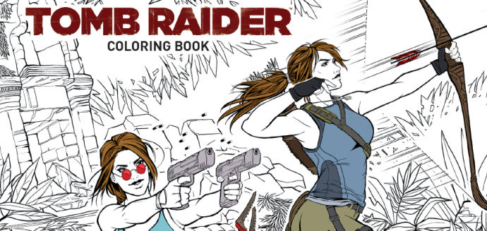 Tomb Raider Coloring Book  Crystal Dynamics (writer), Randy Green (artist), Phillip Sevy (artist), Katie Swindlehurst (artist), Tholia (artist) Dark Horse Comics February 13, 2019