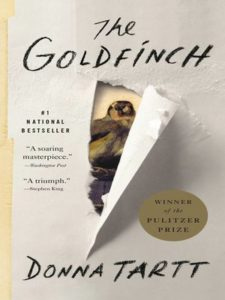 Cover for the Goldfinch