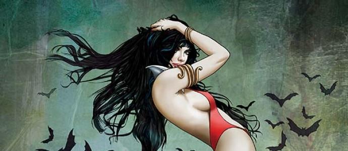 Vampirella Valentine's Special cover by Ergün Gündüz