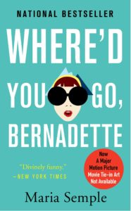 Cover for Where'd You Go, Bernadette