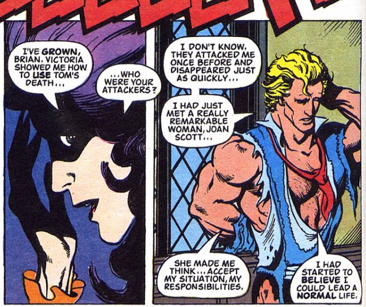 Betsy and Brian, Milke Collins & Alan Davis, Captain Britain in Mighty World of Marvel, Marvel UK, In All the Old Familiar Ways
