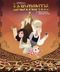 Cover Art for: Jim Henson's Labyrinth: A Discovery Adventure HC Cameron Chittock (Editor); Kate Sherron (Pencils); Laura Langston (colors; cover) Archaia/Boom!Studios March 2019
