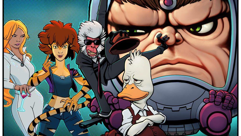The Offenders: Dazzler, Tigra, Howard the Duck, Kill-Monkey, MODOK