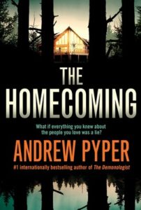 Cover of the Homecoming by Andrew Pyper