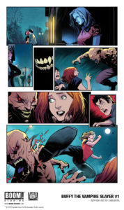 Buffy the Vampire Slayer #1 (BOOM! Studios, January 2019)