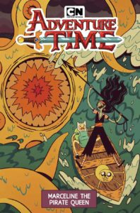 Adventure Time: Marceline The Pirate Queen OGN SC, Sara Kipin, Kaboom, 2019